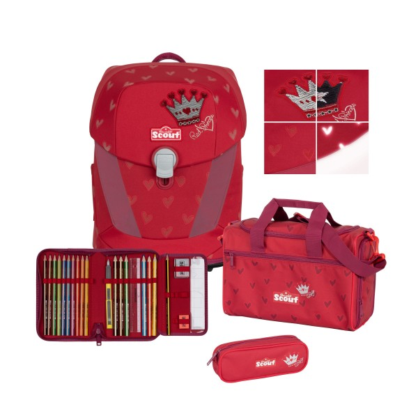 Scout Sunny II Premium Red Princess #73460247100