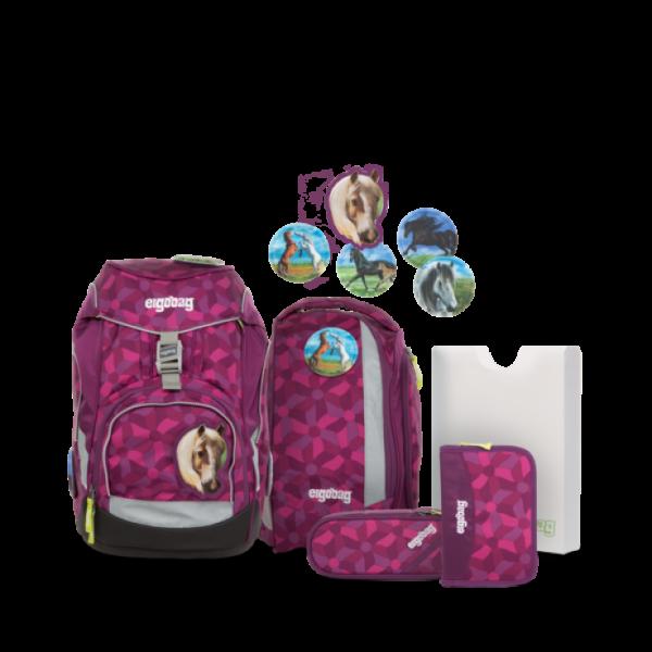 """Ergobag Pack 6-teiliges Schulrucksack-Set """"NachtschwärmBär"""""""