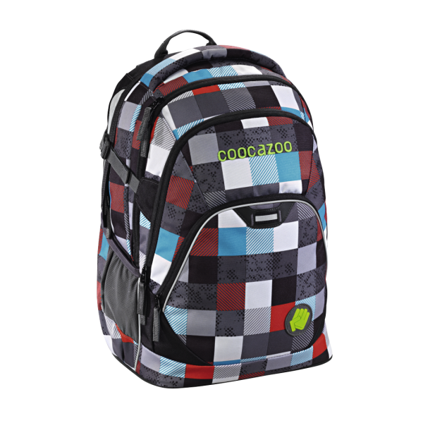 Coocazoo EvverClevver2 Schulrucksack Checkmate Blue Red #129871