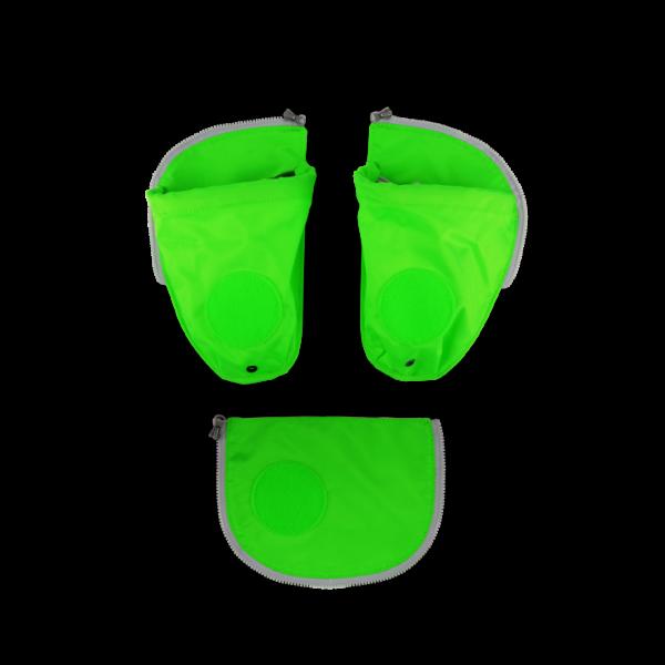 Ergobag Cubo + Pack Seitentaschen Zip-Set 2019/2020 3-teilig