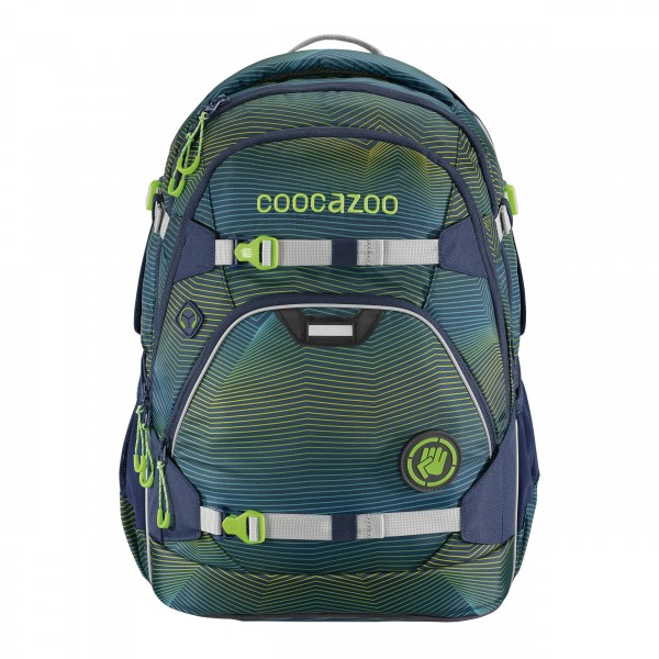 Coocazoo ScaleRale Soniclights Green #188154