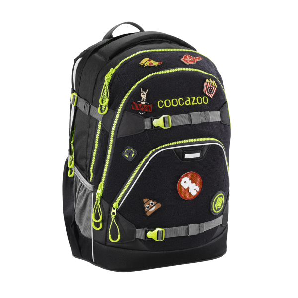 Coocazoo ScaleRale Patchy Black #183725