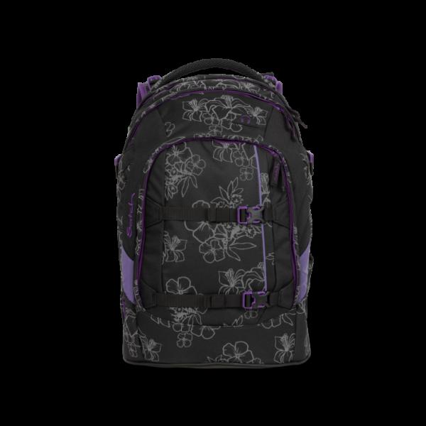 Satch Pack Schulrucksack Ninja Hibiscus #SAT-SIN-001-9W9