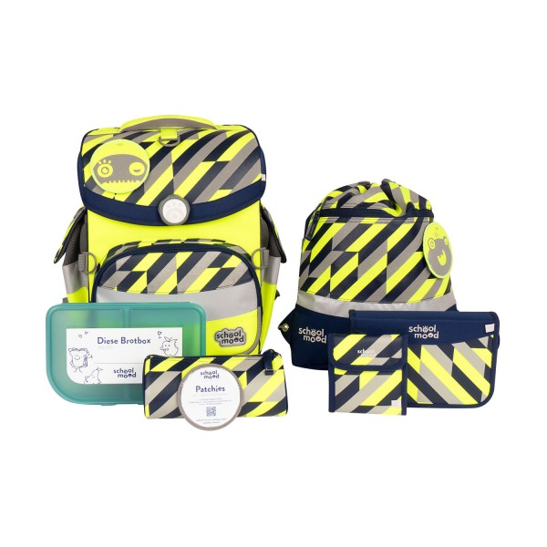 Schoolmood Timeless Air+ Yannick Neon Yellow #3801-11-111