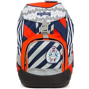 "Ergobag Pack Stripes Edition 6-teiliges Schulrucksack-Set ""Bär2-D2"""