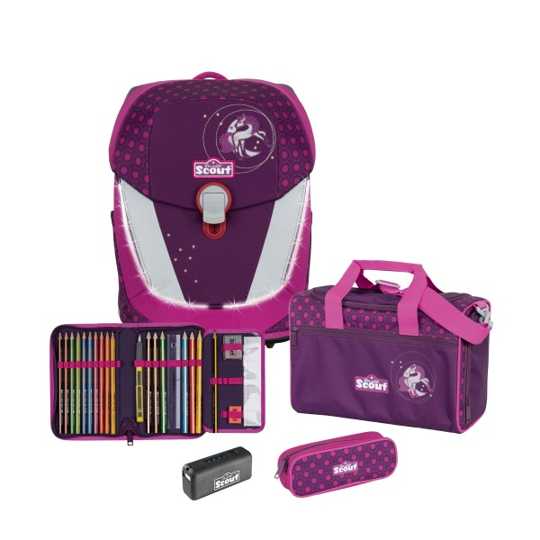 Scout Sunny II Exklusiv Safety Light Moonlight Pony 4-tlg. inkl. Powerbank #73460076600