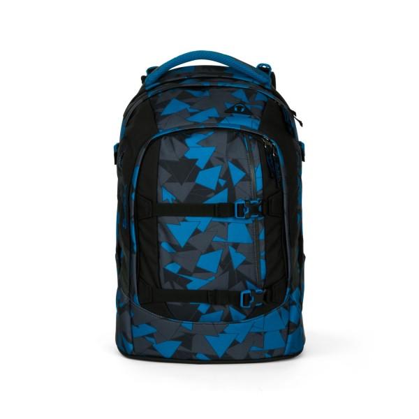 Satch Pack Schulrucksack Blue Triangle #SAT-SIN-002-9D6