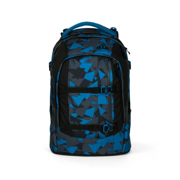 Satch Pack Schulrucksack Blue Triangle #SAT-SIN-002-9D6