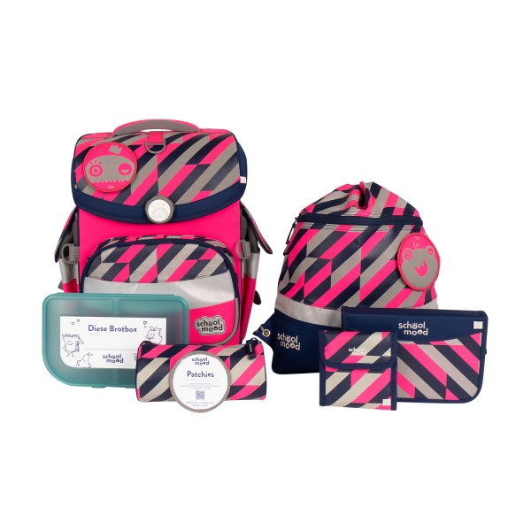 Schoolmood Timeless Air+ Yuna Neon Pink #3801-03-103