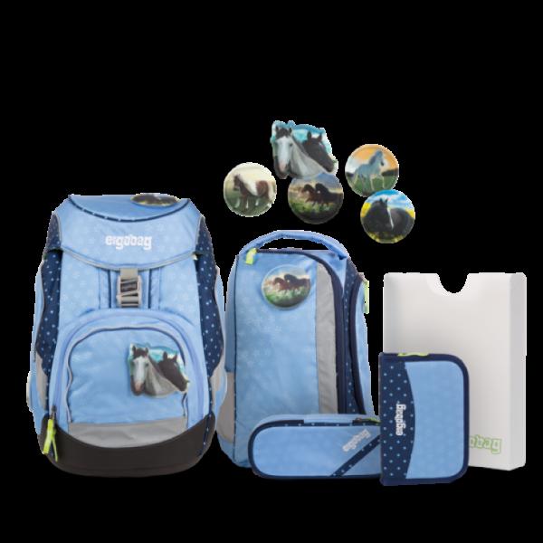 """Ergobag Pack 6-teiliges Schulrucksack-Set """"HimmelreitBär"""""""