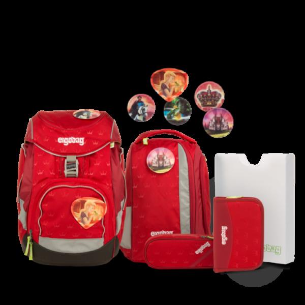 """Ergobag Pack 6-teiliges Schulrucksack-Set """"Küss den Bär"""""""