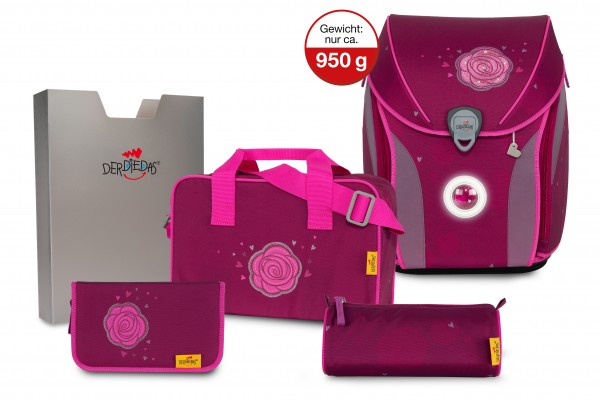 DerDieDas ErgoFlex MAX Exklusiv LED Glitter Rose #8408148