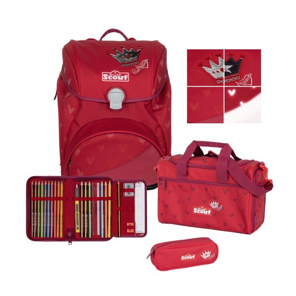 Scout Alpha Premium Red Princess 4-tlg. #74420247100